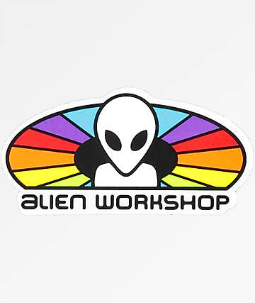 Alien Workshop Spectrum Logo Sticker