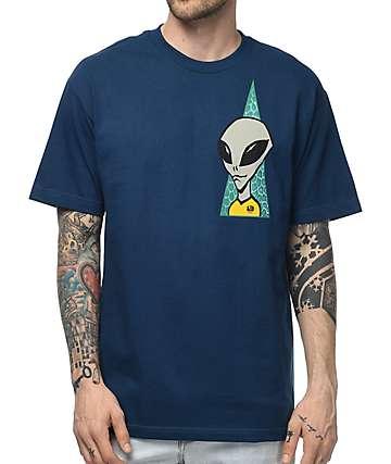 Alien Workshop Visitor Navy T-Shirt