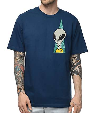 Alien Workshop Visitor camiseta en azul marino