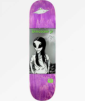 "Alien Workshop x Dinosaur Jr. Green Dream 8.5"" Skateboard Deck"