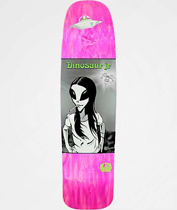 "Alien Workshop x Dinosaur Jr. Green Dream 8.75"" Skateboard Deck"