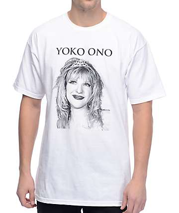 Alive And Well Yoko White T-Shirt