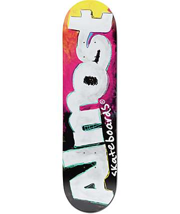 "Almost Art School 8.0"" Skateboard Deck"