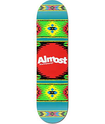 "Almost Aztek Ocean 8.0"" Skateboard Deck"