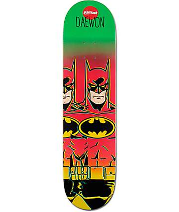 "Almost Daewon Batman Fade 7.75"" Skateboard Deck"