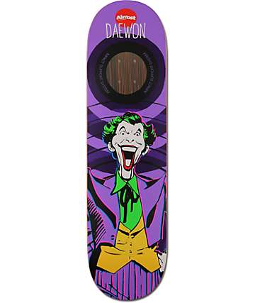 "Almost Daewon Joker 8.38"" Impact Support Skateboard Deck"