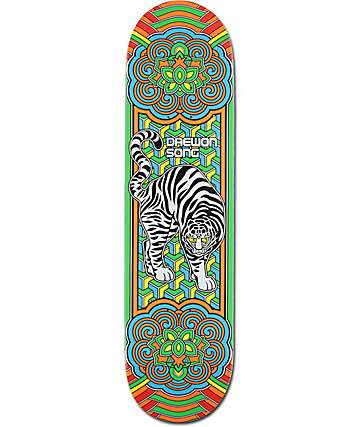 "Almost Daewon Tiger 8.0""  Skateboard Deck"