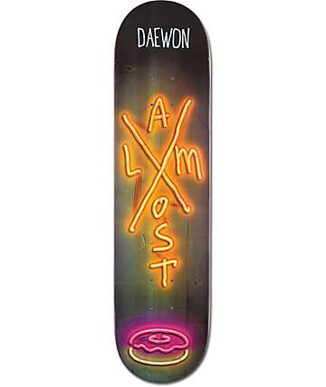 "Almost Daewon X Neon 7.75"" Skateboard Deck"