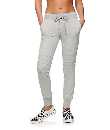 Almost Famous Moto Jogger Pants