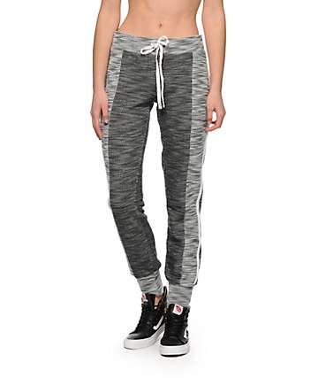Almost Famous Speckle Panel Jogger Pants