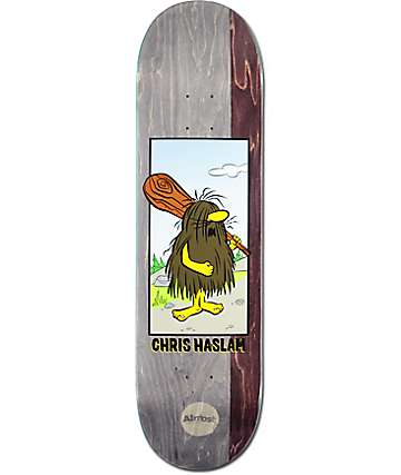 "Almost Haslam Captain Caveman 8.38"" Skateboard Deck"