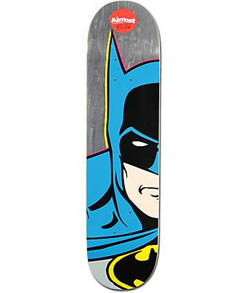"Almost Willow Batman Split Face 7.75"" Skateboard Deck"