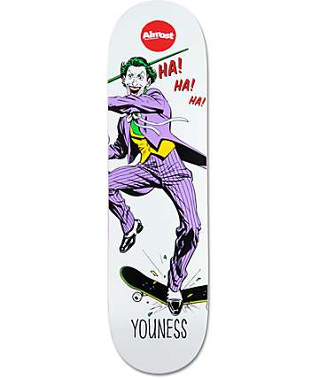 "Almost Youness Joker Focus 8.25""  Skateboard Deck"