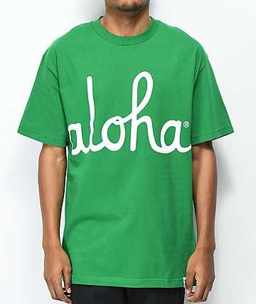 Aloha Army Aloha Kelly Green T-Shirt