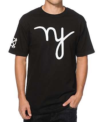 Aloha Army In4mation NY Script Logo T-Shirt