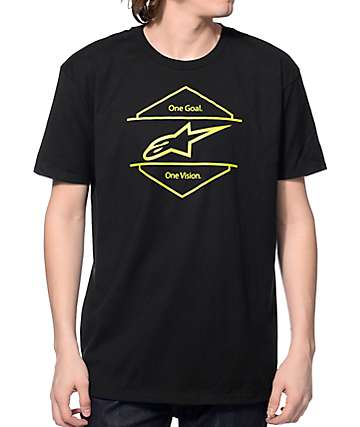 Alpine Stars Bolt On Black T-Shirt