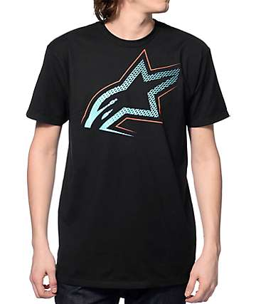 Alpine Stars Highmark Black T-Shirt