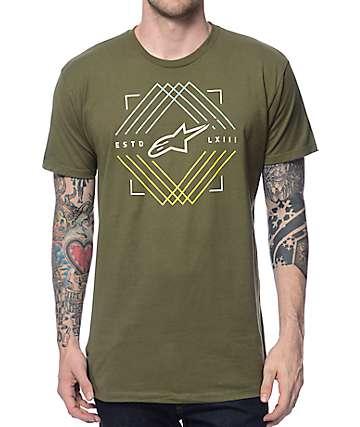 Alpine Stars Peaks Military T-Shirt