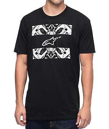Alpine Stars Section Black T-Shirt