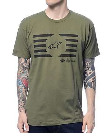 Alpine Stars Sledge Military T-Shirt