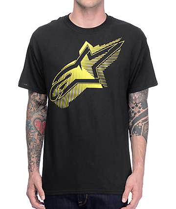 Alpinestars Bias Black T-Shirt