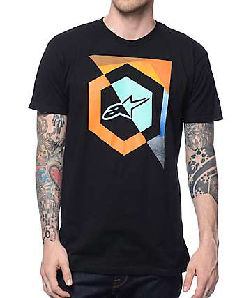 Alpinestars Emit Black T-Shirt