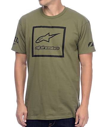 Alpinestars Grande Military T-Shirt