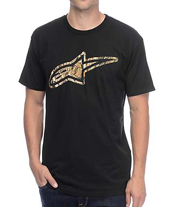 Alpinestars Trigger Black T-Shirt