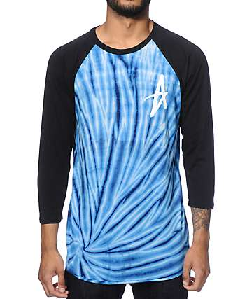 Altamont Clay Circles Icon Tie Dye Baseball T-Shirt