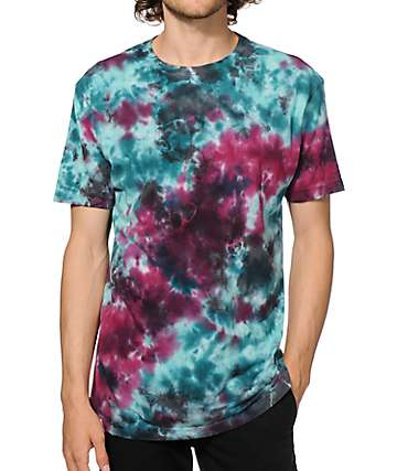 Altamont Electric Clouds Tie Dye T-Shirt
