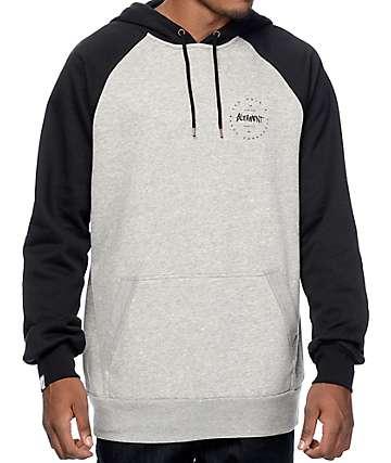 Altamont Zero Six Grey & Black Pullover Hoodie