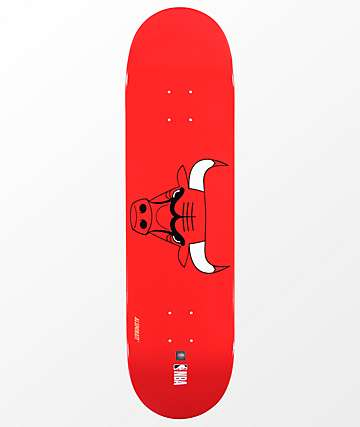"Aluminati Chicago Bulls 8.25"" Skateboard Deck"