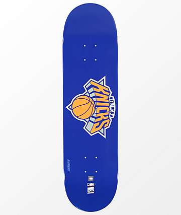 """Aluminati NY Knicks 8.25"""" Skateboard Deck"""