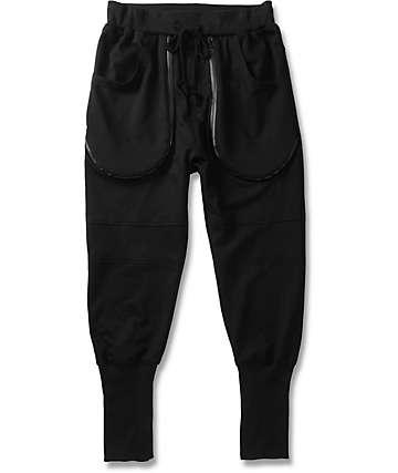 American Stitch Double Zip Deep Pocket Jogger Pants