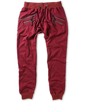 American Stitch Double Zipper Jogger Sweatpants