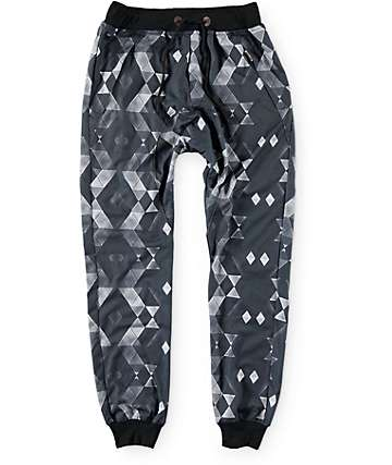 American Stitch Geometric Sublimated Jogger Pants