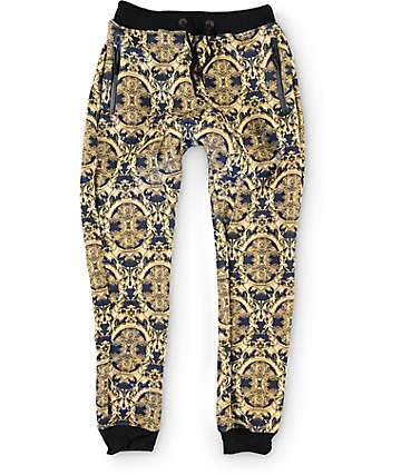 American Stitch Gold Illuminati Sublimated Jogger Pants