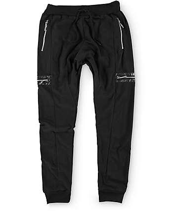 American Stitch PU Cargo Pocket Jogger Pants