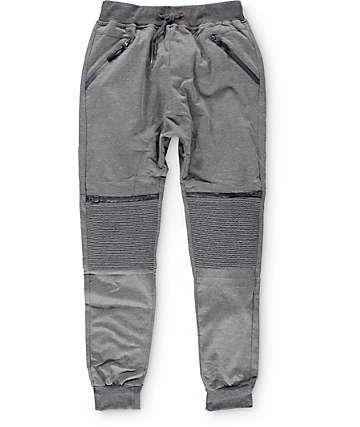 American Stitch pantalones jogger tejido estilo moto