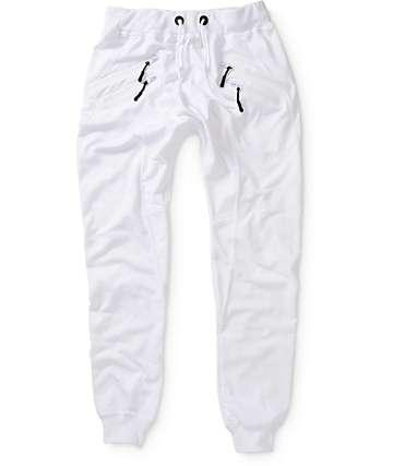 American Stitch pantalones joggers de doble cremallera