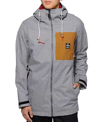 Analog Shoreditch Grey 10K Snowboard Jacket