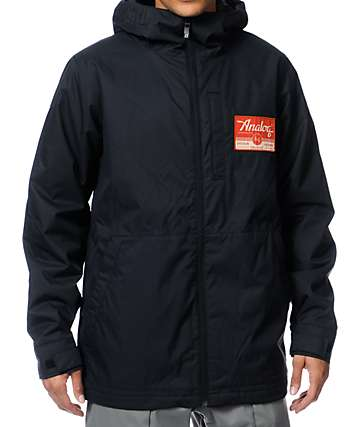 Analog Spectrum Black 10K Snowboard Jacket