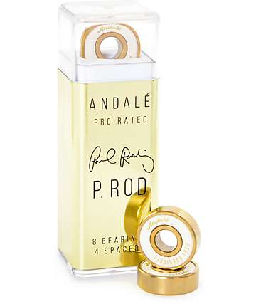 Andale P-Rod Gold Skateboard Bearings