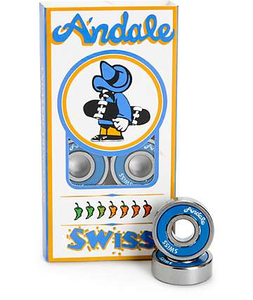 Andale Swiss Skateboard Bearings