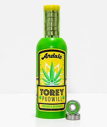 Andale Torey Hot Sauce Pro Rated Skateboard Bearings