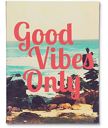 Ankit Good Vibes Wall Canvas