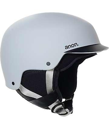Anon Blitz Grey Snowboard Helmet