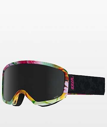 Anon Deringer Black Dark Smoke Womens Snowboard Goggles