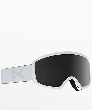Anon Deringer Whiteout Dark Smoke Womens Snowboard Goggles