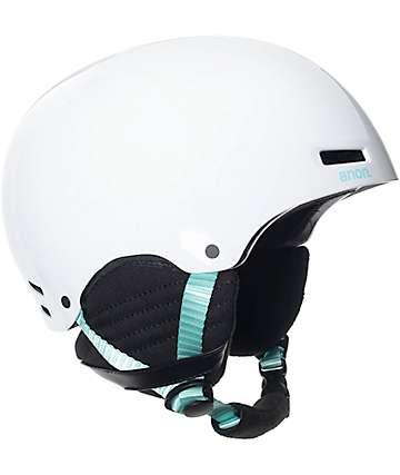 Anon Greta casco de snowboard para mujeres en blanco